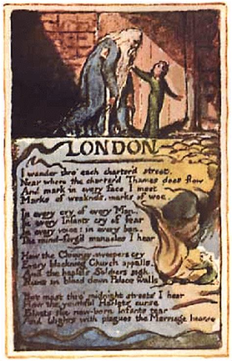 themes in london by blake william blake