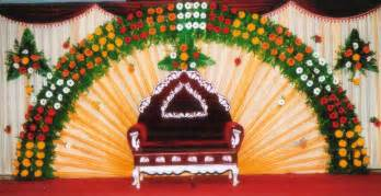 Simple Mandap Decoration Stage Decoration With Flowers Images Images