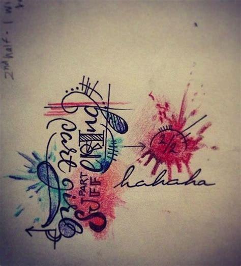 watercolor tattoo vs regular tattoo best 25 abstract watercolor tattoos ideas on