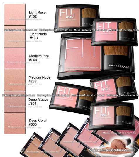 Blush On Maybelline Fit Me australia s best makeup warehouse store