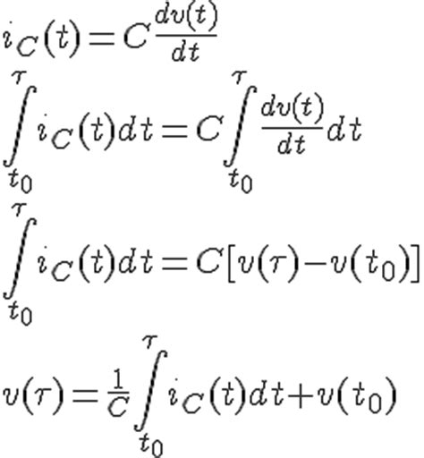 capacitor current differential equation differential equation for voltage across a capacitor