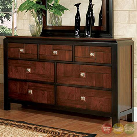 chrome bedroom furniture patra acacia and walnut panel bedroom set with square
