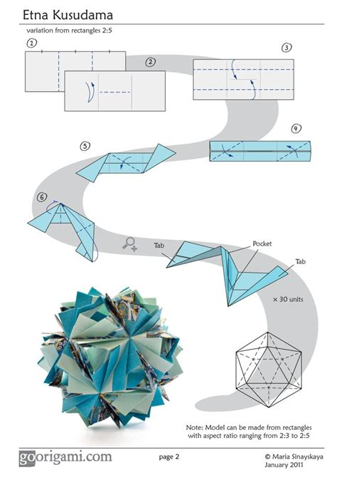 Modular Origami Diagrams - 228 best origami images on origami paper