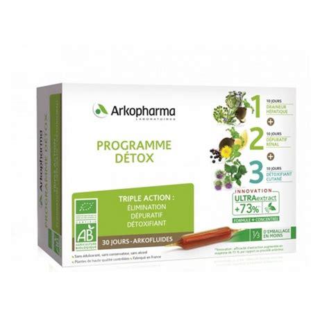 Detox Fe Ou Crença by Arkofluides Programme Detox Bio 3x10 Oules