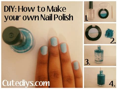 cutediys make your own nail