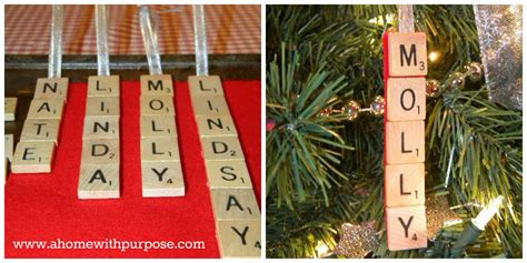 easy scrabble easy scrabble ornaments a home with purpose