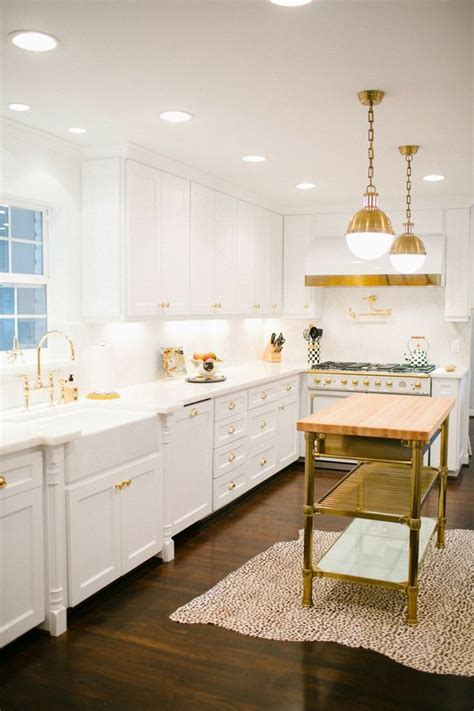 integrating gold accents into the home