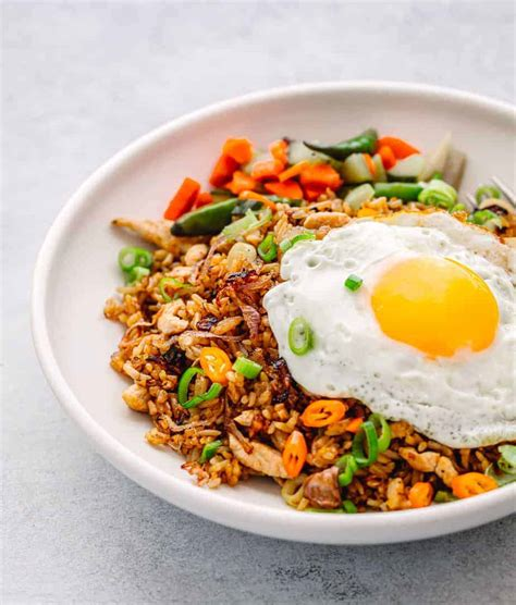 nasi goreng recipe indonesian fried rice posh journal