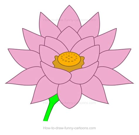 drawing of lotus flower how to create a lotus flower drawing