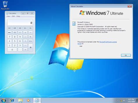windows 7 download download windows 7 rtm build 7600 redmond pie