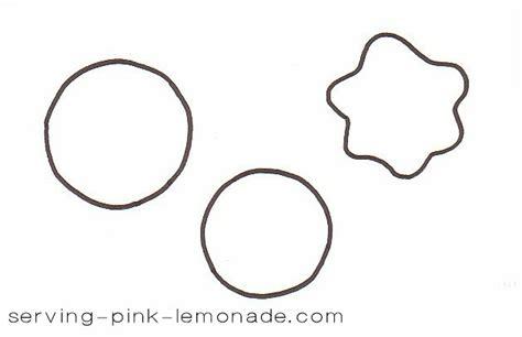 Serving Pink Lemonade Felt Sugar Cookies Printable Cookie Template
