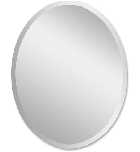 Uttermost Mirrors Oval by Ls Uttermost 19590 B Frameless Large Oval Mirror