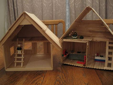 popsicle stick house 15 homemade popsicle stick house designs hative