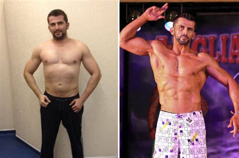 ben booker before and after chion bodybuilder gained amazing six pack after