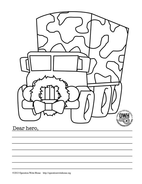 coloring pages operation write home