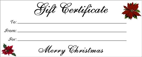 Downloadable Gift Certificate Template by 18 Gift Certificate Templates Excel Pdf Formats