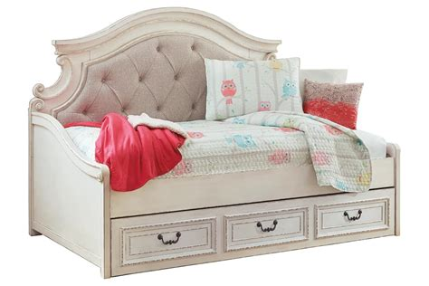 ashley furniture realyn twin day bed   large storage