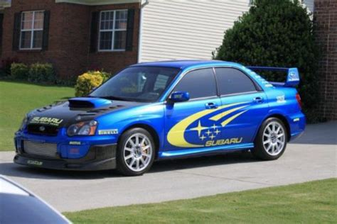2 Door Wrx by Buy Used 2005 Subaru Impreza Wrx Sti Sedan 4 Door 2 5l In
