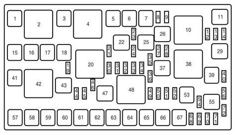 2009 lincoln mkz fuse box diagram free wiring