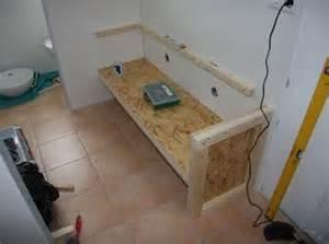 tisch für aufsatzwaschbecken selbst bauen waschtisch mit aufsatz waschbecken bauanleitung zum selber