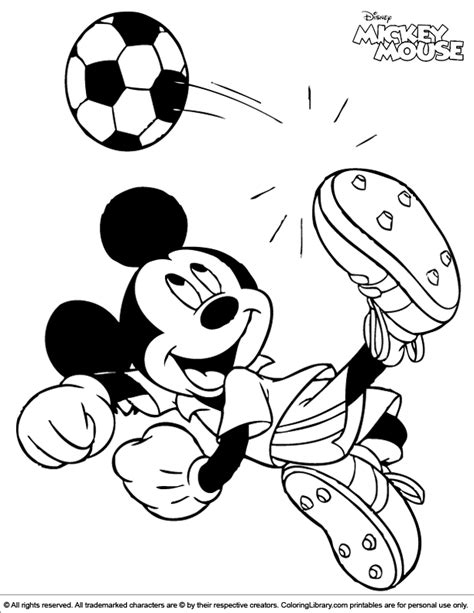 mickeymouse coloring pages calendar template