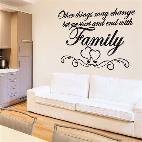 wall sayings stickers family wall sticker quote wall chimp uk