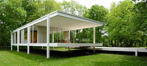 Farnsworth House by Farnsworth House Plano Il Wje