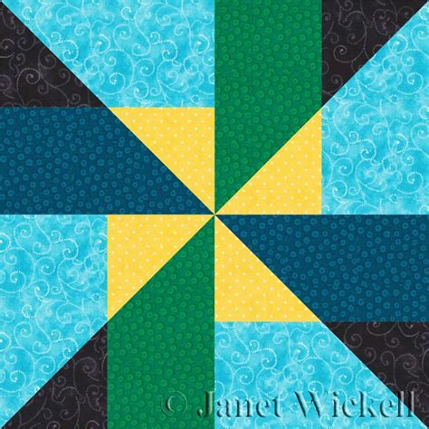 Easy Pinwheel Quilt Block by Try This Easy And Unique Pinwheel Quilt Block Pattern