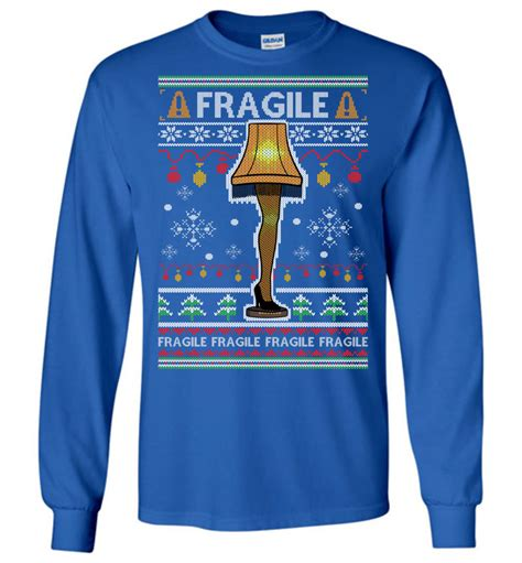 leg l christmas sweater the leg l ugly christmas sweater fragile ugly sweater