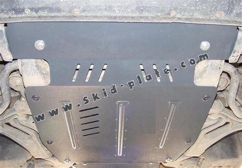 steel skid plate  volkswagen touareg