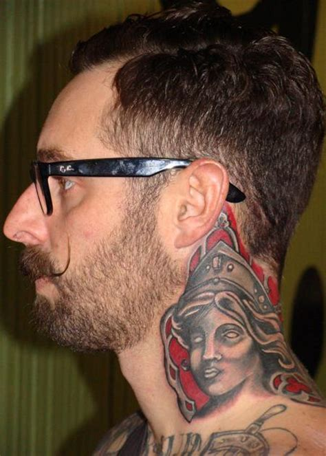 tattoo neck piece bernini neck piece by chuck day tattoonow