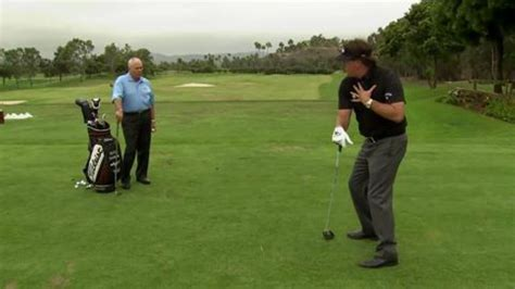 phil mickelson driver swing watch lessons with butch harmon phil mickelson the