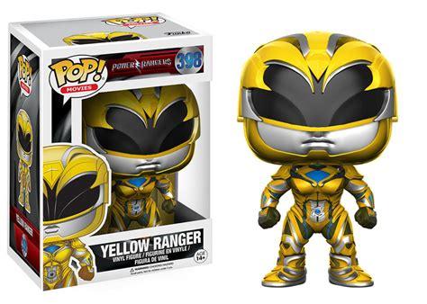 Funko Pop Original New Power Rangers Yellow Ranger funko pop mighty morphin power rangers moive 2017 yellow ranger figure