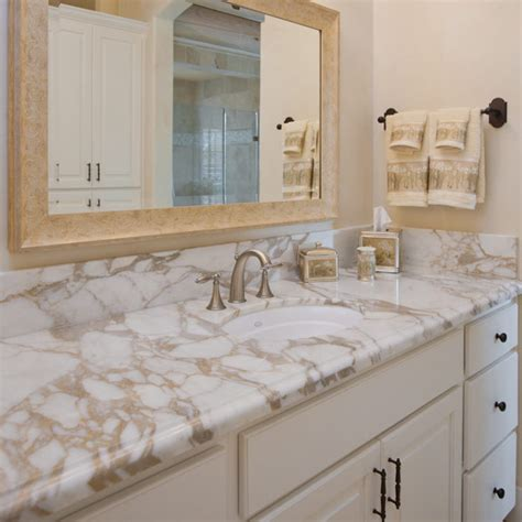 marble countertop for bathroom choosing stone alpine granite accents
