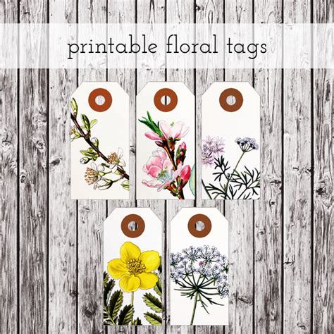 Print Gift Tags At Home | printable labels for homemade gifts a delightful home