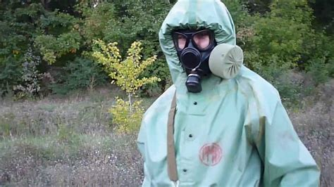 And Gas Lawsuit by 03 Russian Hazmat Suit Ozk And Gas Mask Pmk 1