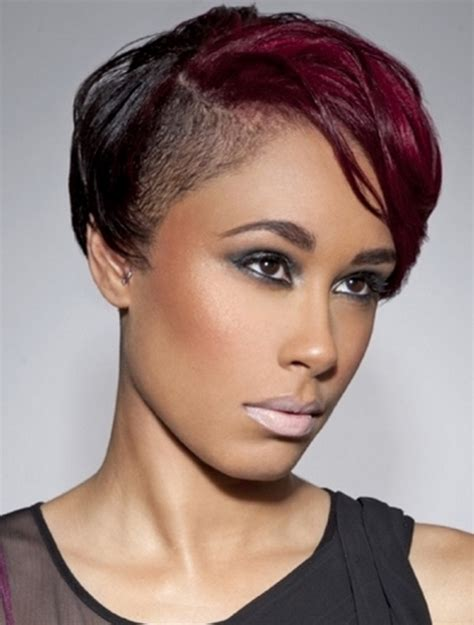 black women hairstyles short on one side and long on the short hairstyles for black women hairstyle for womens