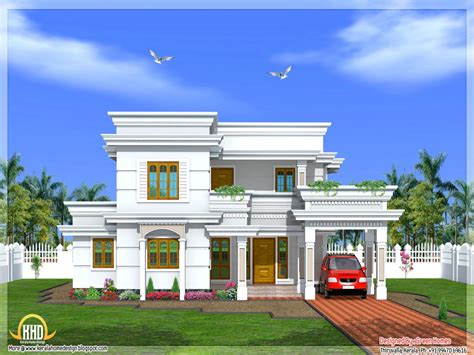 new design house plans new house plan in kerala 2016