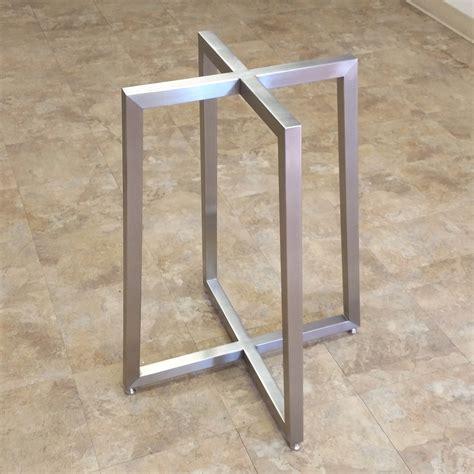 metal dining table base apollo table bases custom metal home