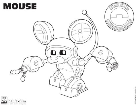 Animal Mechanicals Coloring Pages free coloring pages of komodo animal mechanicals