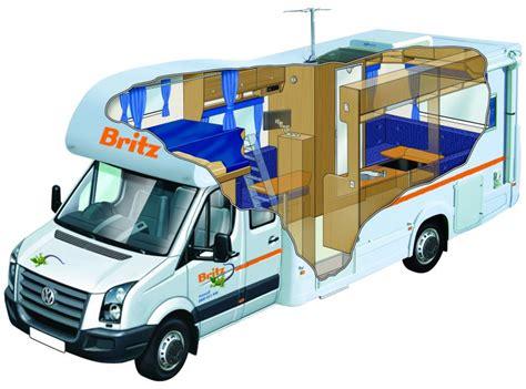 Cheap Floor Plans britz renegade 6 berth flex rates 6 7 berth motorhome