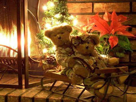christmas teddy bear wallpapers