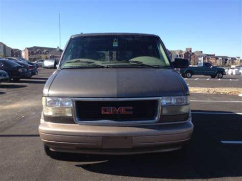 2000 gmc gas mileage sell used 2000 gmc safari low mileage