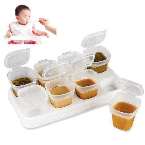Food Freezer Cube Corn 1 freezer storage containers 8pcs bpa free baby weaning food