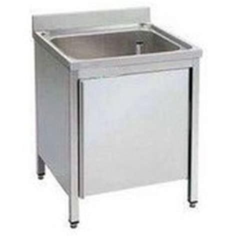 lavello inox 1 vasca lavello armadiato inox 1 vasca 60x60 gescom vendita e