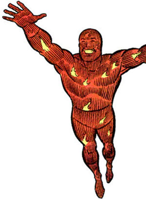 Baju Human Torch Fantastic Four the human torch comic www pixshark images