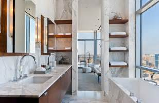 30 Marble Bathroom Design Ideas Styling Up Your Private Daily Rituals   Freshome.com