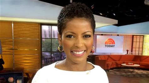 tamron hall fragerance tamron hall wears her natural hair for the first time on