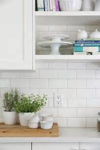 home depot subway tile backsplash backsplash 3x6 white subway tiles from home depot we used