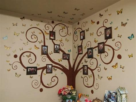 family wall murals family tree wall mural ideas with chocolate colors in soft